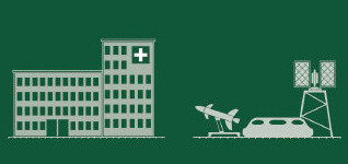 MILITARY INSTALLATIONS <br>MEDICAL INSTITUTIONS